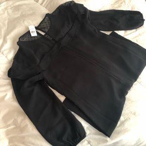 LOFT Black NewWithTag Dress. Size 6